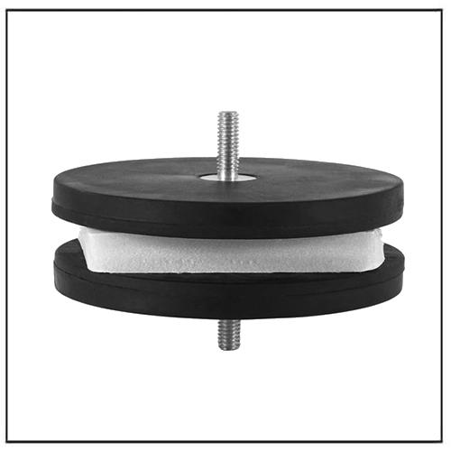 Rubber Pad Magnetic Base LED Pods Mounting Bracket Magnet