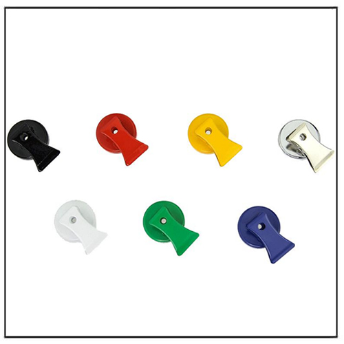 Colorful Heavy Duty Aluminum Ceramic Magnetic Clip Organizer
