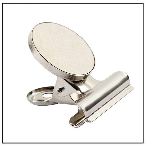 Fridge Magnet Clips with Neodymium Magnet 30mm Wide