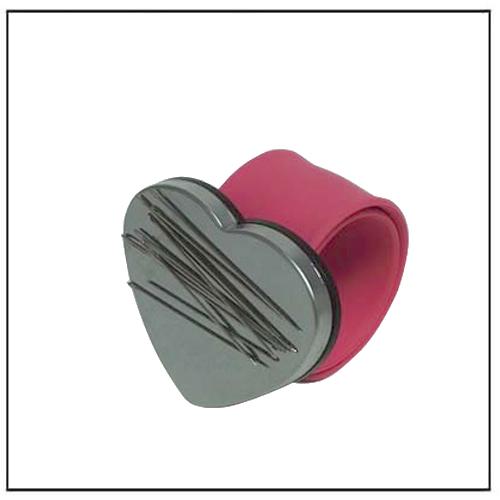 Hair Grip Magnetic Wristband w Heart Shape Neodymium Magnet