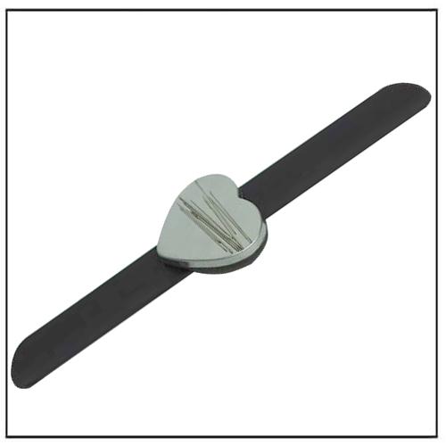 Hairdressing Magnetic Bobby Pin Bracelet w Heart NdFeB Magnet