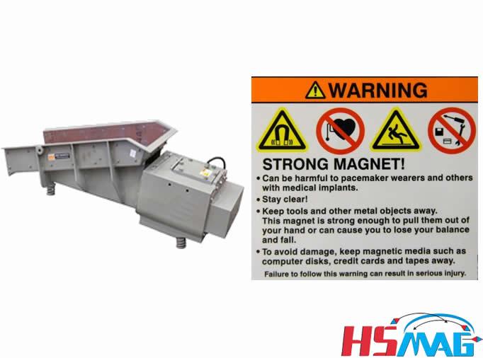 Magnetic Separators Magnet Safety