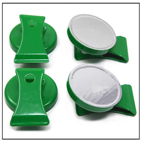 Multipurpose Magnetic Clips Green