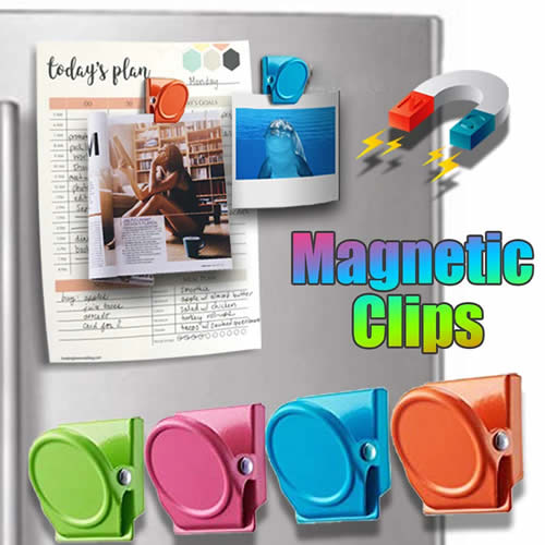 Unique Refrigerator Magnets and Magnetic Clips