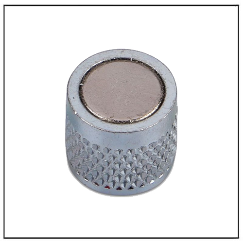 Frige and Whiteboard Neodymium Pot Magnets Ø13 x 12 mm with Knurling on the Outer Radius
