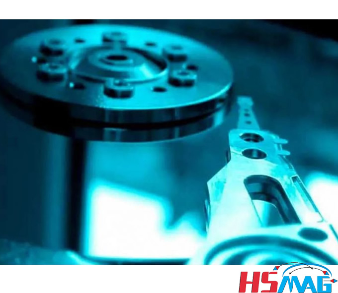 Manufacturing of external magnetic hard drives
