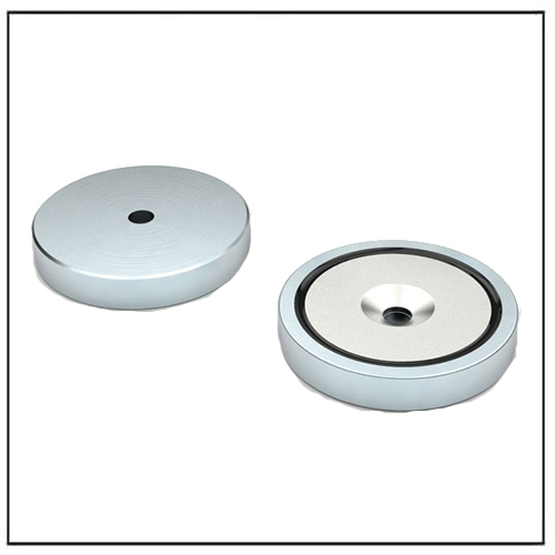 NdFeB Flat Pot Magnet with Countersunk