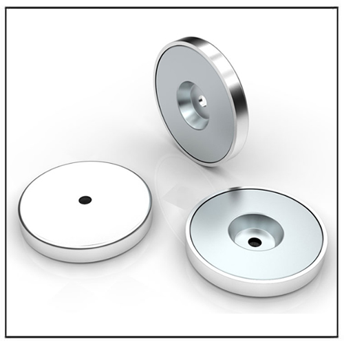 NdFeB Through Hole Magnetic System With Stainless Steel Cover