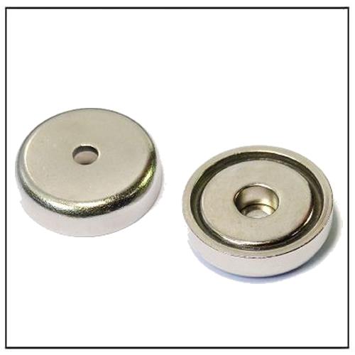 Neodymium Counterbore Pot Magnets