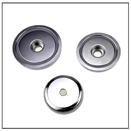 Neodymium Pot Magnet with Screw Hole