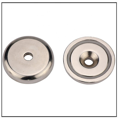 Neodymium Shallow Countersunk Hole Cup Magnet