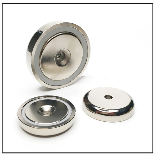 Strong Magnetics Neodymium Countersunk Shallow Pot Magnets