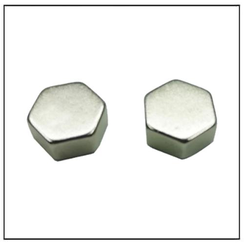 Custom Shape Regular Hexagonal Block NdFeB Magnet