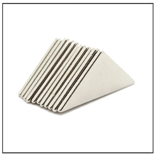 Customized Ultra Precision NdFeB Triangle Strong Magnet