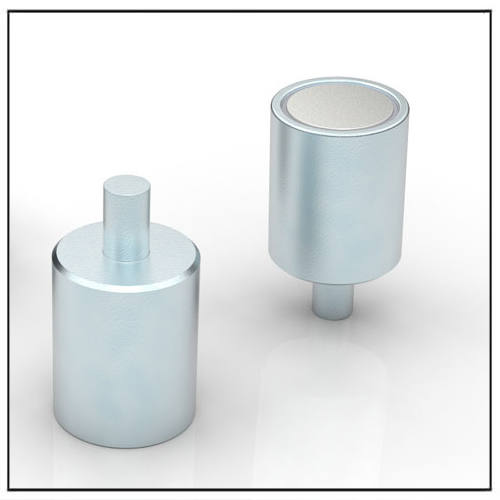 Deep Pot Holding Magnet Neodymium (NdFeB) with Neck Pin