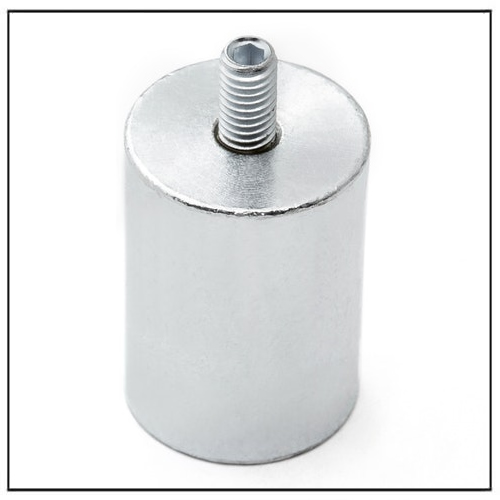 Deep Pot Holding and Lifting Magnet NdFeB with External Screw Thread