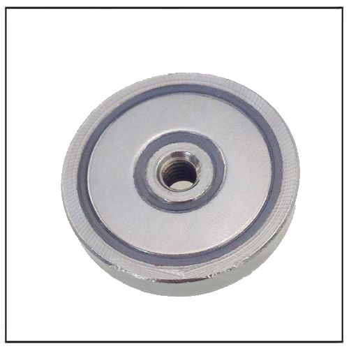 NdFeB Pot Cup Magnet with Screw Hole
