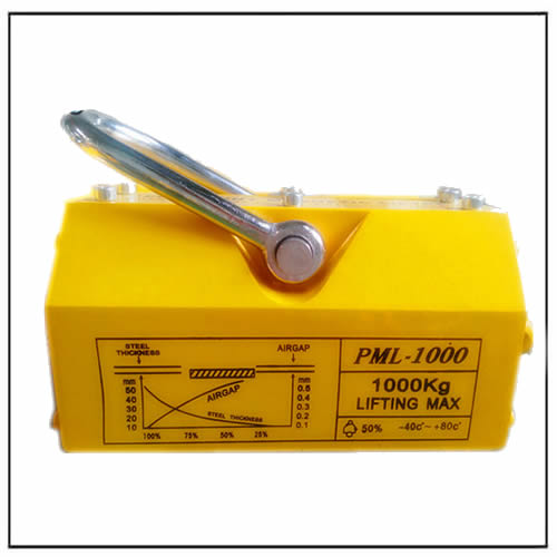 1000 KG Powerful Holding Force Steel Magnetic Lifter