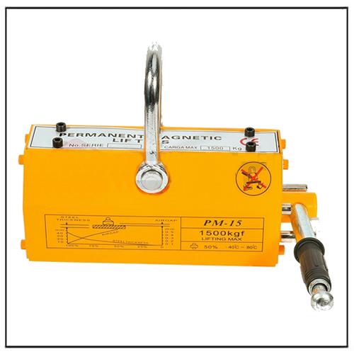 Crane Hoist Lifting Magnet Permanent Magnetic Lifter 3300 LB