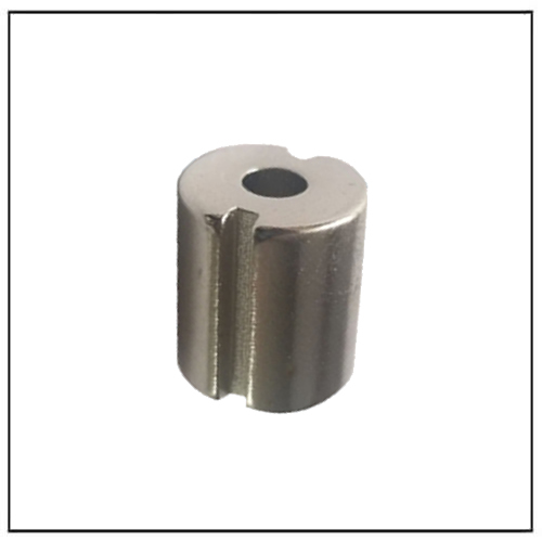 Custom Neodymium Ring Hollow Cylindrical Magnet Slotted on Side
