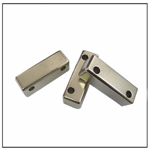 Neodymium Rectangular Drilling Magnets