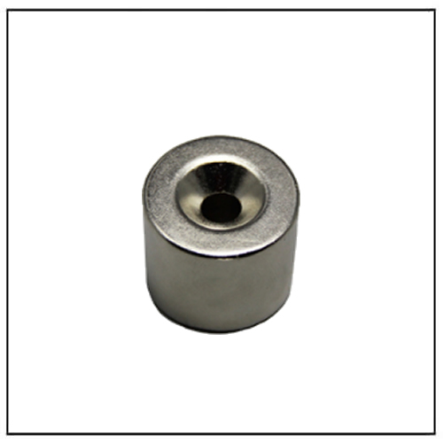 Rare Earth Nd-Fe-B Cylinder Countersunk Hole Magnet