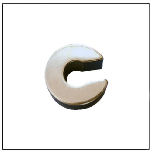 Sintered Nd-Fe-B Irregular Notched Magnetic Ring