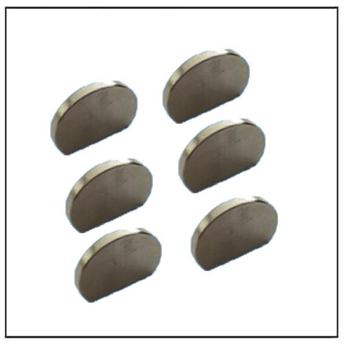 Strong Neodymium Irregular Semicircular Magnets