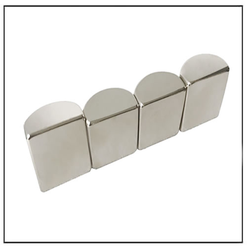 Super Strong NdFeB Semicircle Cylinder Magnets