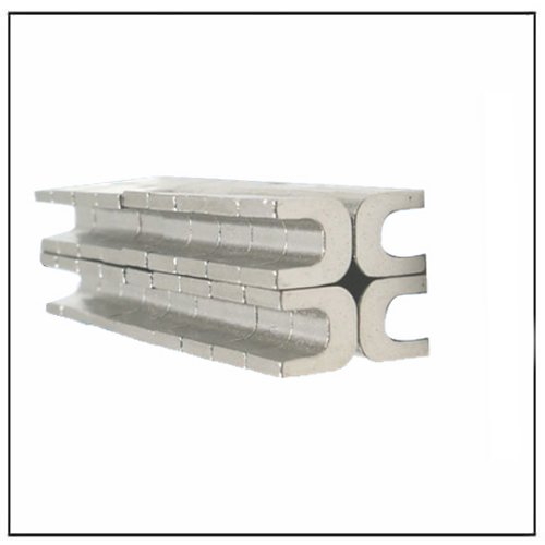 U-type Grooved Strong Rare Earth Ndfeb Magnet