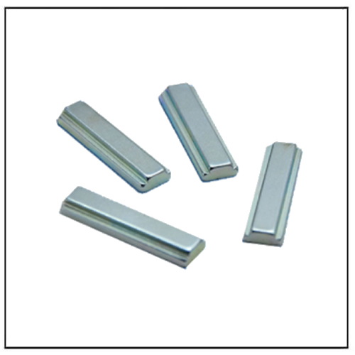 Zinc Plating Convex Block Shape Neodymium N42 Magnets