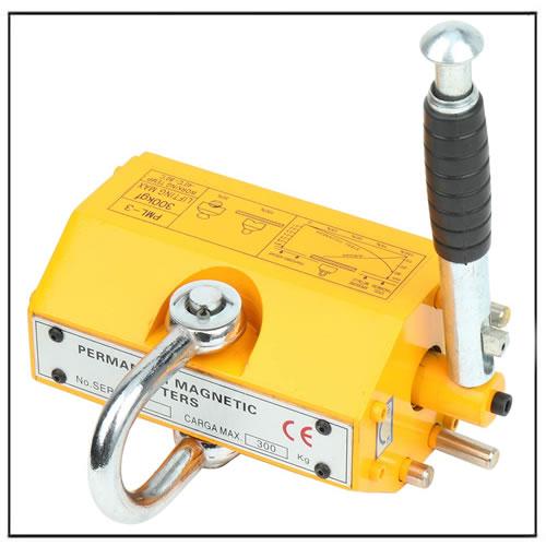 Heavy Duty Crane Shop Hoist NEODYMIUM Lift Magnet 660LB 300KG