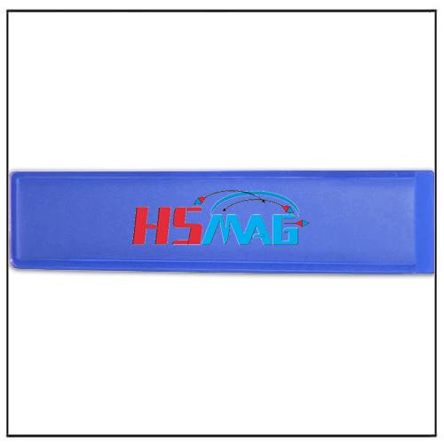 Blue Magnetic Label Holder 110mm