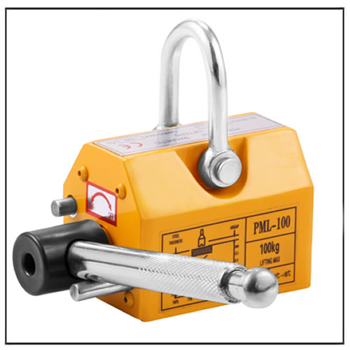 Handle Permanent Magnet Lifter Suction Cup 100Kg