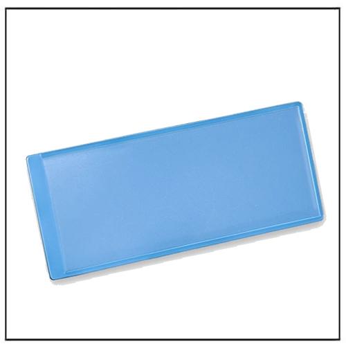 Blue Magnetic Card Pocket 110mm x 50mm