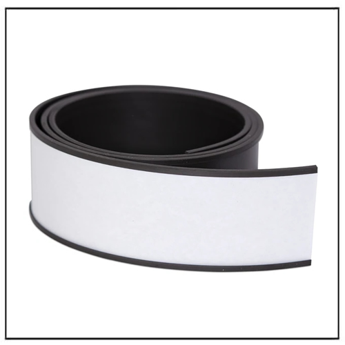 C-Channel Rubber Magnetic Label Strips 50mm