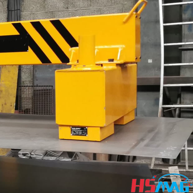 Electro Lifting Magnets for Thin Steel Sheets