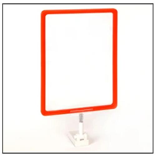 Supermarket Advertising Display Frame with Magnetic Base
