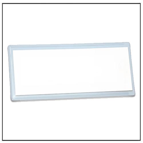 White Magnetic Pocket Holder 110mm x 50mm
