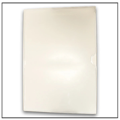 White Rubber Magnetic Card Label Holder 313mm